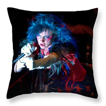 Juliette Lewis Throw Pillow