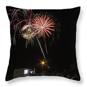July 4th 2012 Throw Pillow by Tom Gort