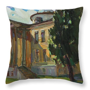 July Day In Russian Estate Throw Pillow