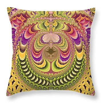 Jupiter's Key Throw Pillow