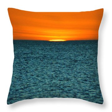 Just A Sliver Throw Pillow