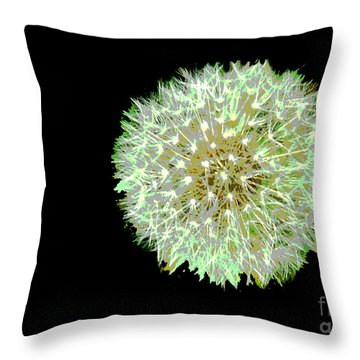 Just Dandy Throw Pillow by Cindy Manero