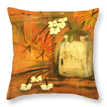 Just Enough Throw Pillow