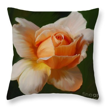 Just Joey Bloom Throw Pillow