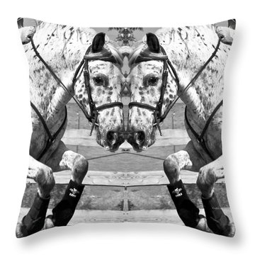 Just Jump It Throw Pillow