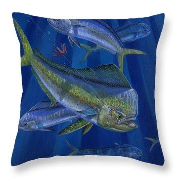 Just Taken Throw Pillow by Carey Chen