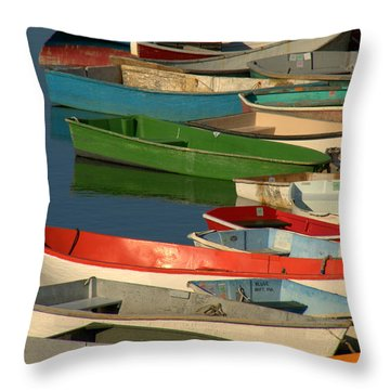 Throw Pillow featuring the photograph Just Waiting by Caroline Stella