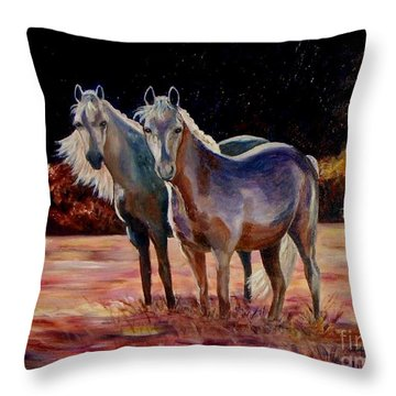 Just Who Are You Throw Pillow