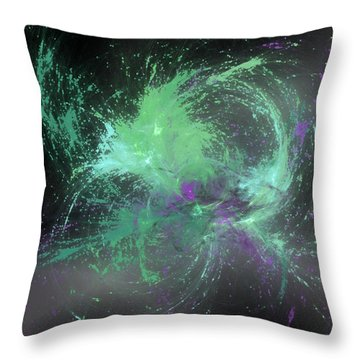 Kaavailla Throw Pillow by Jeff Iverson