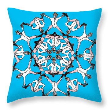 Kaleidoscoot Throw Pillow