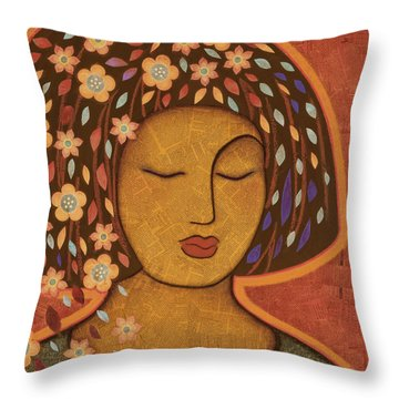 Kali Throw Pillow