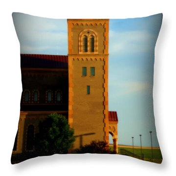 Throw Pillow featuring the photograph Kansas Architecture by Jeanette C Landstrom
