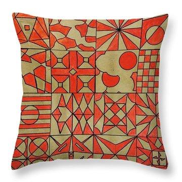 Karpaksh Throw Pillow by Sumit Mehndiratta