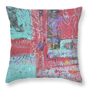 Keeping It Together Throw Pillow by Wayne Potrafka