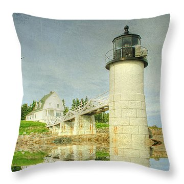 Keeping You Safe Throw Pillow by Darren Fisher