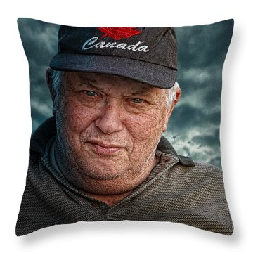 Ken Lees Throw Pillow