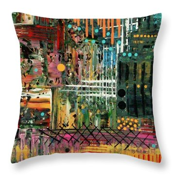 Kenya On My Mind Throw Pillow