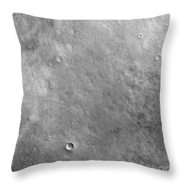 Kepler Crater On The Surface Of Mars Throw Pillow by Stocktrek Images