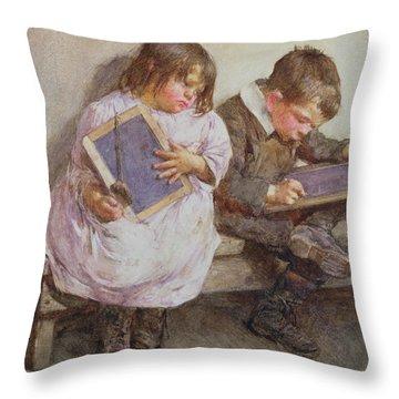 Kept In Throw Pillow by John Henry Henshall