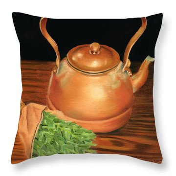 Kettle Throw Pillow
