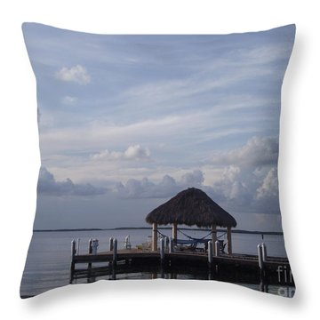 Key Largo Retreat Throw Pillow