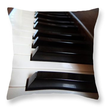Keys Throw Pillow