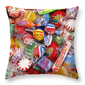 Kids Play 1 Throw Pillow by Andee Design