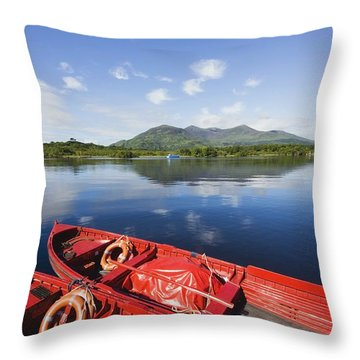 Killarney, County Kerry, Munster Throw Pillow by Peter Zoeller