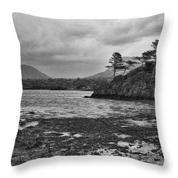 Throw Pillow featuring the photograph Killarney Lake by Hugh Smith