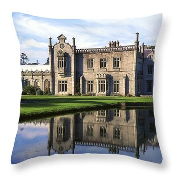 Kilruddery House And Gardens, Co Throw Pillow by The Irish Image Collection