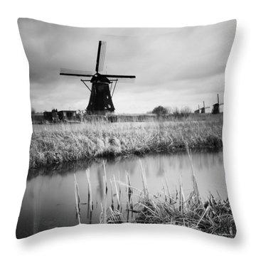 Windmill Throw Pillows