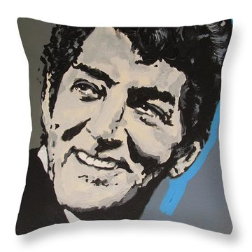 King Of Cool Throw Pillow