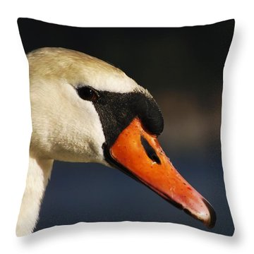 Throw Pillow featuring the photograph King Of The Fowl by Gerald Strine