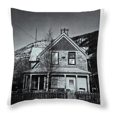 King Street Throw Pillow by Priska Wettstein