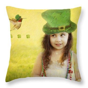 Kiss Me I Am Not Irish Throw Pillow