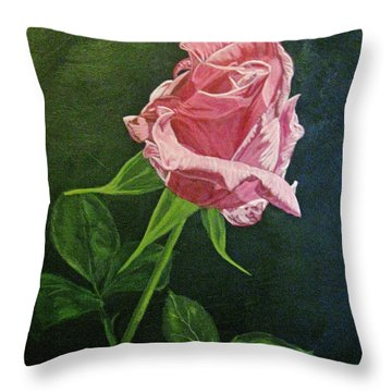 Kiss Of The Morning Sun 2 Throw Pillow by Wendy Shoults