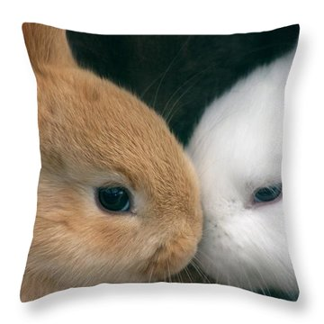 Kissing Cousin's Throw Pillow