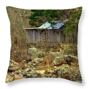 Klepzig Mill Throw Pillow by Marty Koch