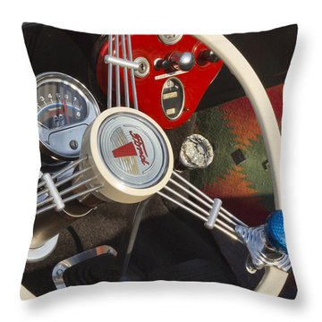 1932 Ford Throw Pillows