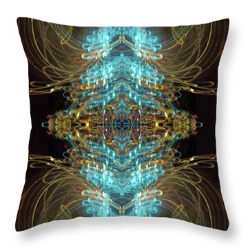 Knots IIi Throw Pillow