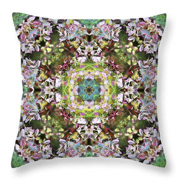 Knots Iv Throw Pillow