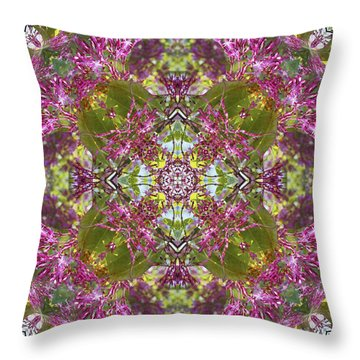 Knots Ix Throw Pillow