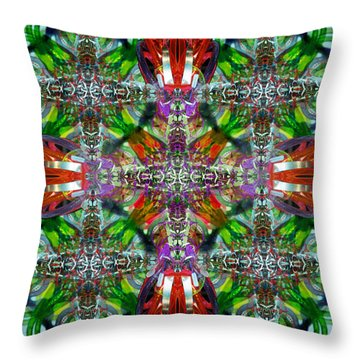 Knots V Throw Pillow