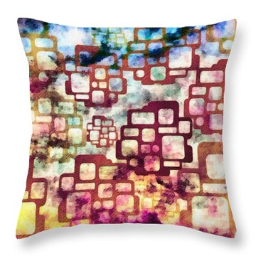Knowledge Is Not Wisdom 2 Throw Pillow by Angelina Vick