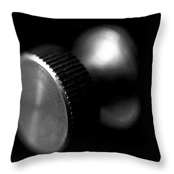Knurled Throw Pillow by Lisa Phillips