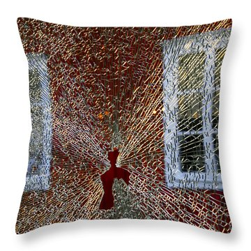 Kosta Shattered Throw Pillow