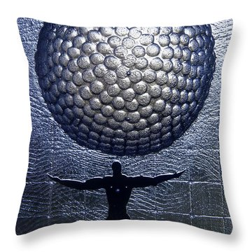 Kosta Universal Man Throw Pillow