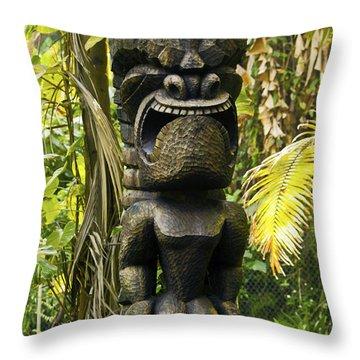 Ku - God Of War Throw Pillow