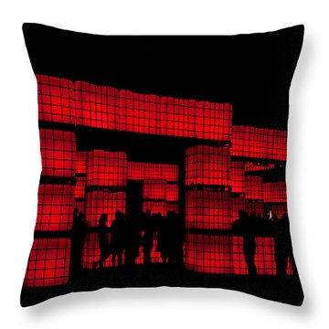 Kubism Throw Pillow by Andrew Paranavitana