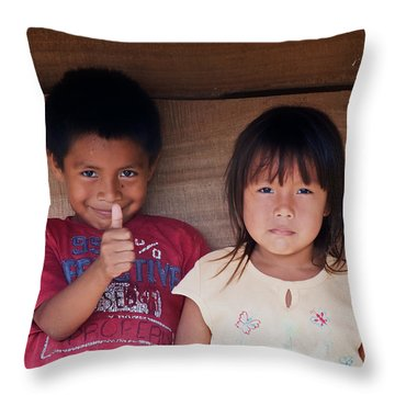 Kuna Manner Throw Pillow